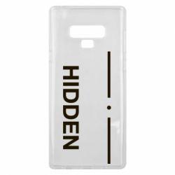 Чохол для Samsung Note 9 Hidden