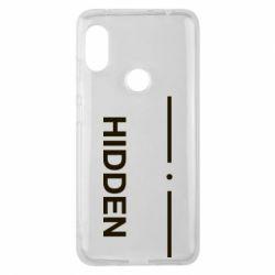 Чохол для Xiaomi Redmi Note Pro 6 Hidden