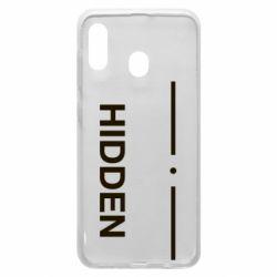 Чохол для Samsung A30 Hidden