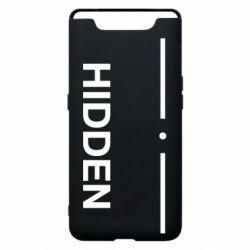 Чохол для Samsung A80 Hidden