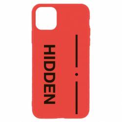 Чохол для iPhone 11 Hidden