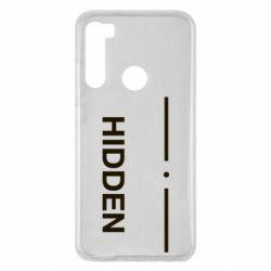 Чохол для Xiaomi Redmi Note 8 Hidden