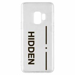 Чохол для Samsung S9 Hidden