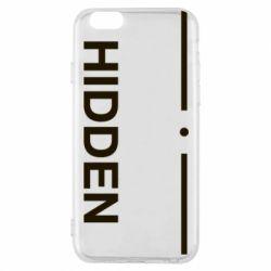 Чохол для iPhone 6/6S Hidden