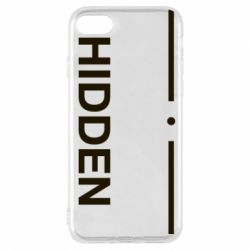 Чохол для iPhone 7 Hidden