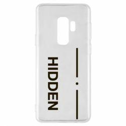 Чохол для Samsung S9+ Hidden