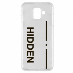 Чохол для Samsung A6 2018 Hidden