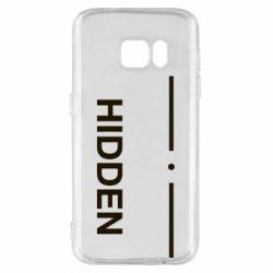 Чохол для Samsung S7 Hidden