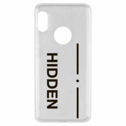 Чохол для Xiaomi Redmi Note 5 Hidden