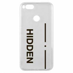 Чохол для Xiaomi Mi A1 Hidden