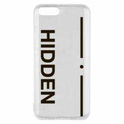 Чохол для Xiaomi Mi6 Hidden
