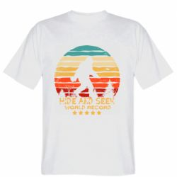 Мужская футболка Hide and seek world record