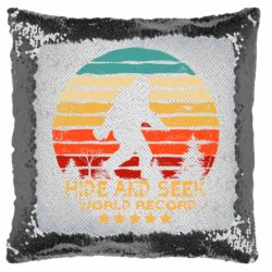Подушка-хамелеон Hide and seek world record