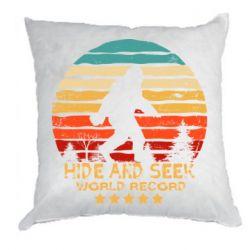 Подушка Hide and seek world record