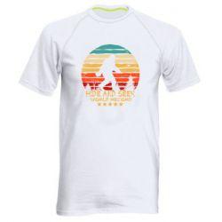 Мужская спортивная футболка Hide and seek world record