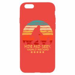 Чехол для iPhone 6/6S Hide and seek world record