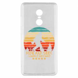 Чехол для Xiaomi Redmi Note 4x Hide and seek world record