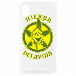 Чохол для iPhone XR Hierba Delavida