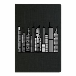 Блокнот А5 High-rise buildings silhouette