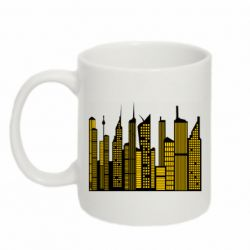 Кружка 320ml High-rise buildings silhouette