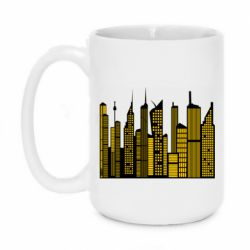 Кружка 420ml High-rise buildings silhouette