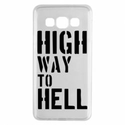 Чехол для Samsung A3 2015 High way to hell