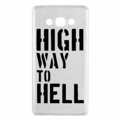 Чехол для Samsung A7 2015 High way to hell