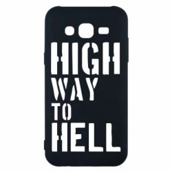Чехол для Samsung J5 2015 High way to hell