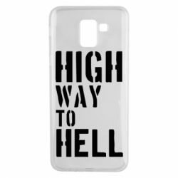 Чехол для Samsung J6 High way to hell