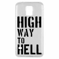 Чехол для Samsung S5 High way to hell