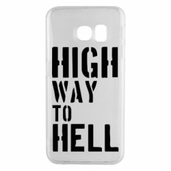 Чехол для Samsung S6 EDGE High way to hell