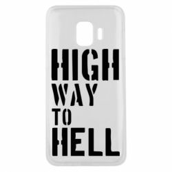 Чехол для Samsung J2 Core High way to hell