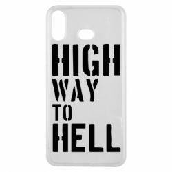 Чехол для Samsung A6s High way to hell