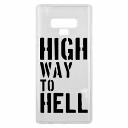 Чехол для Samsung Note 9 High way to hell
