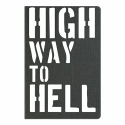 Блокнот А5 High way to hell