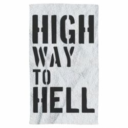 Полотенце High way to hell