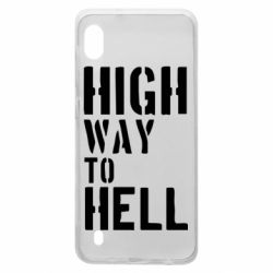 Чехол для Samsung A10 High way to hell