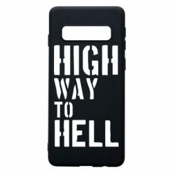 Чехол для Samsung S10 High way to hell