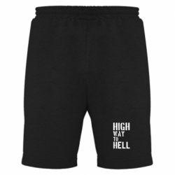 Мужские шорты High way to hell