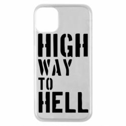 Чехол для iPhone 11 Pro High way to hell