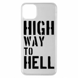 Чехол для iPhone 11 Pro Max High way to hell
