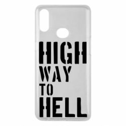 Чехол для Samsung A10s High way to hell