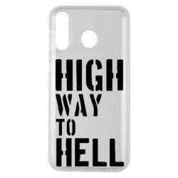 Чехол для Samsung M30 High way to hell