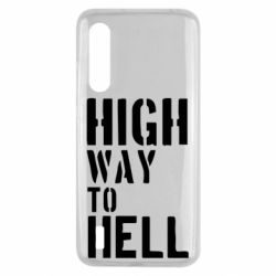 Чехол для Xiaomi Mi9 Lite High way to hell