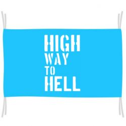 Флаг High way to hell