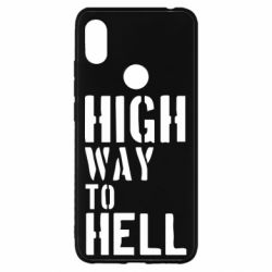 Чехол для Xiaomi Redmi S2 High way to hell