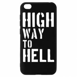 Чехол для Xiaomi Redmi Go High way to hell