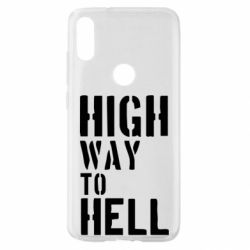 Чехол для Xiaomi Mi Play High way to hell