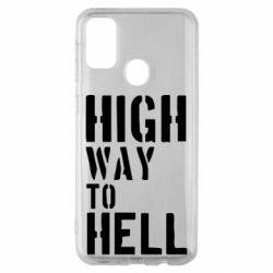 Чехол для Samsung M30s High way to hell