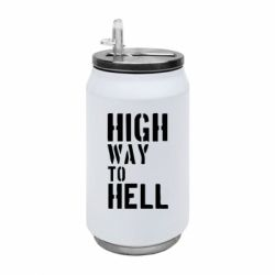 Термобанка 350ml High way to hell